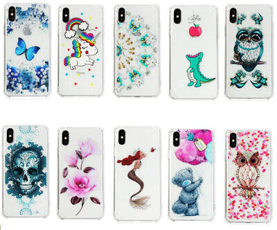 Shockproof Crystal Clear Silicone Soft TPU Protective Cover Case For Phone