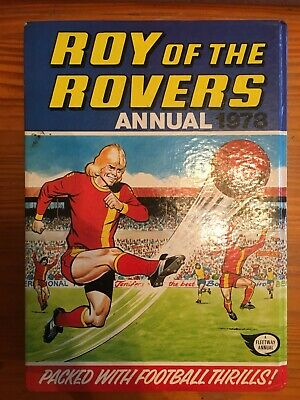 Roy Of The Rovers Football Annual 1978