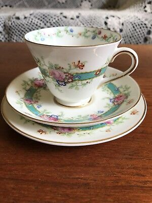 """Stunning Vintage Royal Doulton """"Estelle"""" Trio Cup Plate and Saucer High Tea"""