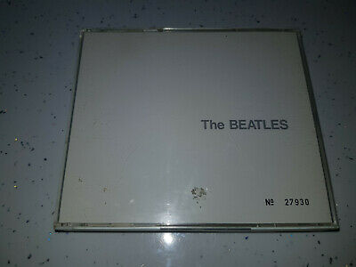 The Beatles  -  White Album   --   Rare Numbered with booklet   CD