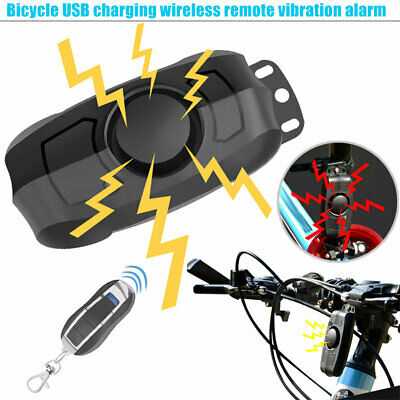 New Bike Bicycle Cycling Wireless Remote Control Alarm Anti-Theft Security Lock
