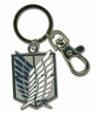 *NEW* Attack on Titan: Scout Legion Emblem Key Chain by GE Animation