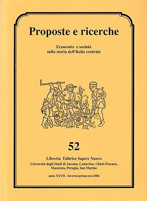 Storia Local Proposals and research n. 52