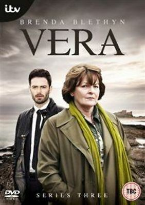 Vera Complete 3rd Series Dvd Brenda Blethyn Brand New & Factory Sealed