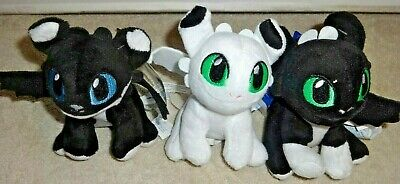 bbbb7300b75 BUILD A BEAR how to train your dragon BABY night light set lot of 3 ...