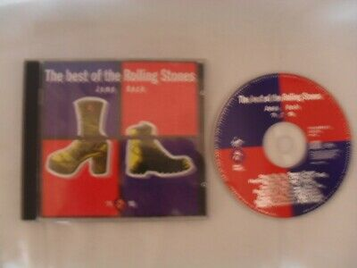 THE BEST OF THE ROLLING STONES - JUMP BACK - CD ALBUM  (Free P&P)