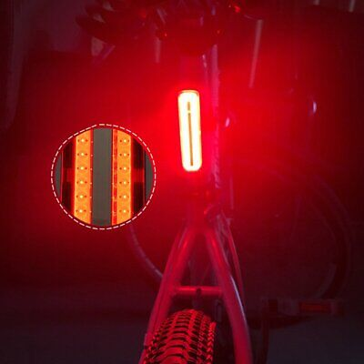 LED Bicycle Bike Cycle Red Rear Tail Back Light Lamp for Riding Safety 4-Modes