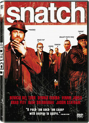 Snatch (Widescreen Edition), Very Good DVD, Vinnie Jones, Rade Sherbedgia, Jason