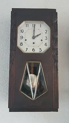 0166 - Antique French Odo 36 Westminster wall clock