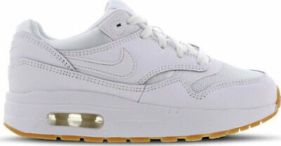 lowest price 4777f 219ab Infants Boys Girls Nike Air Max 1 (PS) White Gum 807603 101