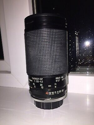 Genuine Tamron SP 35-210mm 1:3.5-4.2 Macro Camera Lens Adaptall 2