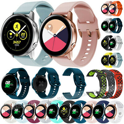 For Garmin Vivoactive 3 / Vivomove HR 20MM Silicone Band Strap Bracelet Strap