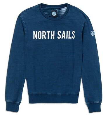 Felpa Uomo Round Neck W/Graphic North Sails