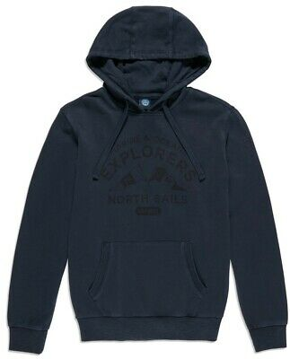 Felpa Uomo Hooded Sweet W/Graphic North Sails