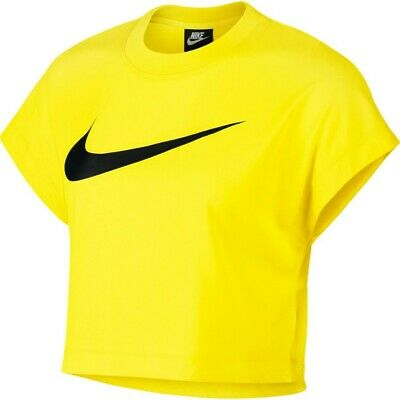 T SHIRT DONNA NIKE W Nsw Hrtg Top Ss Ar2513.100 Crop Logo