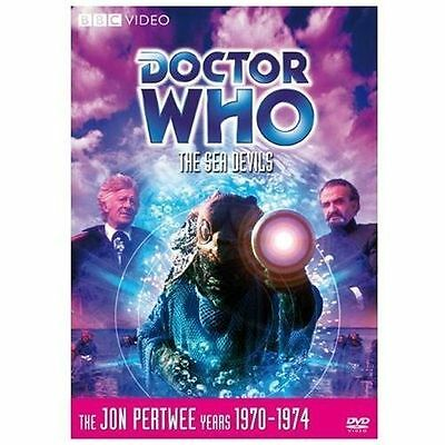 Doctor Who: The Sea Devils (Story 62) DVD, 2008 Jon Pertwee - R1