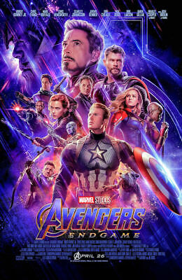 "Avengers -  Endgame ( 11"" x 17"" ) Movie Collector's Poster Print ( T2 )- B2G1F"
