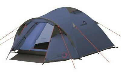Easy Camp Meteor 300 Tent Blue 3 Man Tent Camping Festival Tent