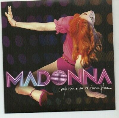 MADONNA : CONFESSIONS ON A DANCE FLOOR ♦ Limited Edition Album ♦ HUNG UP