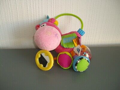 Playgro ~ Clip Clop Horse Teething Ring And Rattle Baby Toy