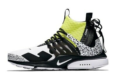 sports shoes e07bf d28d8 Nike Air Presto Mid Acronym - Dynamic Yellow - Size 8