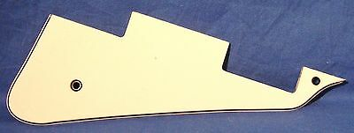 New 3 Ply White Pickguard For Usa Gibson Les Paul Guitar