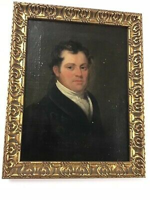 Early 19th Century Oil/Canvas Well Dressed Gentleman