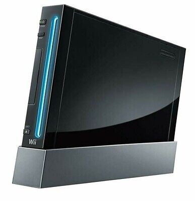 Nintendo Wii Black - Console Only - Working 100%