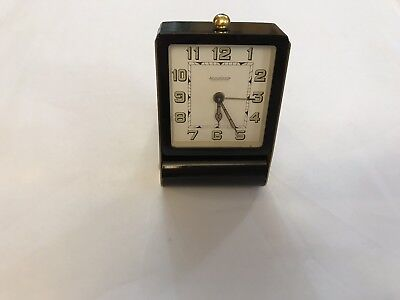 Jaeger-Le-Coultre 8 Day Travel clock