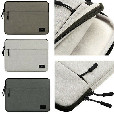 """US For 11"""" 11.6"""" Macbook Laptop Notebook Shockproof Sleeve Case Bag Cover Pouch"""