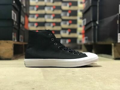aa2417c4a784 Converse Chuck Taylor II Hi Womens Skate Shoe Black White 150143C NEW Size 6