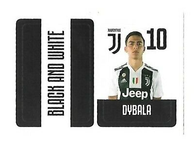 Juventus Fc 2018 19 Europublishing - N.j10 Dybala Figurina Sticker New