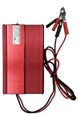 12V Volt 20A Amp Lithium LFP LiFePO4 Intelligent Battery Charger - USA Stock!