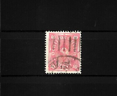 1922 Germany Reich Mi.Nr. 206 WF (without visible rose background) used + signed