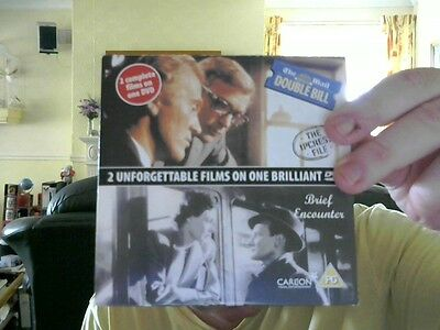 Brief Encounters / The Ipcress File  2 Films 1 Dvd Michael Caine Free  Uk Post