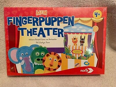 "Noris 606041550 Children's Game ""My Finger puppet Theater"""