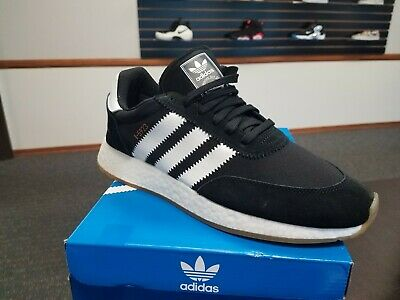 online store 97121 56976 Brand New In Box Mens Adidas Original Iniki Running Boost I-5923 Black  By9727