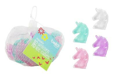 16 Pack Unicorn Reusable Ice Cubes Uk Seller Top Quality