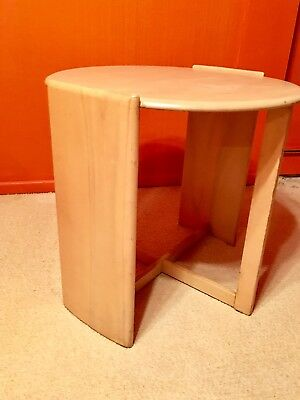 Rare / Gilbert Rohde for Heywood Wakefield Tall Table, with Label, 1930's