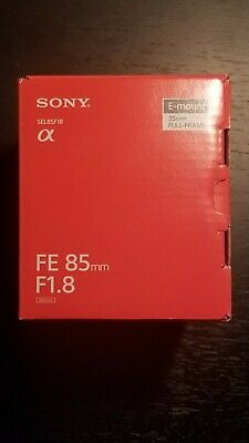 Sony FE 85mm f1.8 E Mount Lens