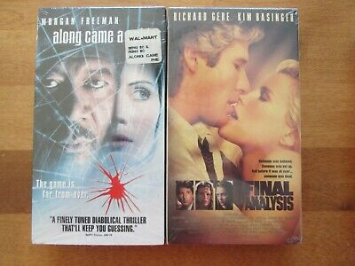 VHS Along Came A Spider/Final Analysis BRAND NEW (Choose 1 of 2)Buy It Now $1.00