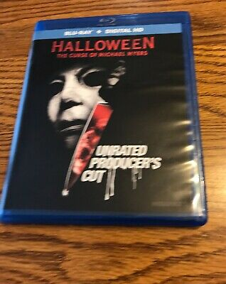 Halloween:The Curse of Michael Myers Blu-Ray:  See 40+ VUDU Disc to Digital DVDs