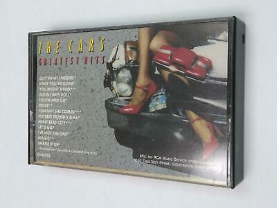 THE CARS Greatest Hits C153702 Cassette Tape
