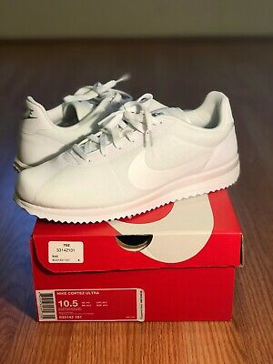 watch 46414 b01a8 Nike Cortez Ultra Running Shoes White Cool Grey 833142-101 Size 10.5