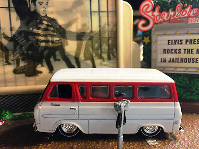 1965 Ford Econoline Van Rare 1/64 Scale Collectible Diecast Model Car