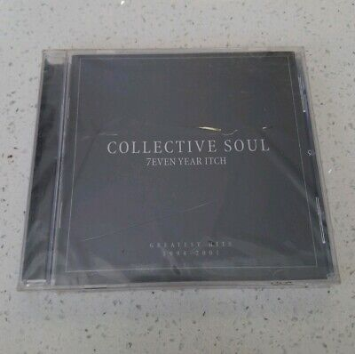 Collective SOUL 7even Year Itch  CD *Sealed* 2001