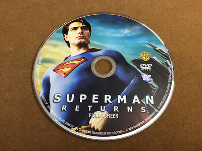 Superman Returns (DVD, 2006, Full Frame Edition)Disc Only 4-40