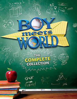 Boy Meets World:The Complete Series Collection(DVD,Season 1-7,22-Disc Set)NEW US