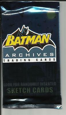 Batman archives , trading card pack