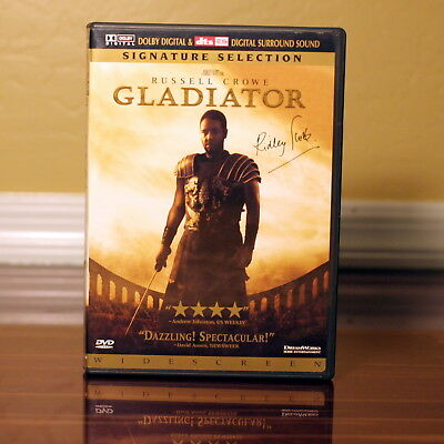 Gladiator (Widescreen DVD 2000, 2-Disc Signature Selection) Gold Foil Edition